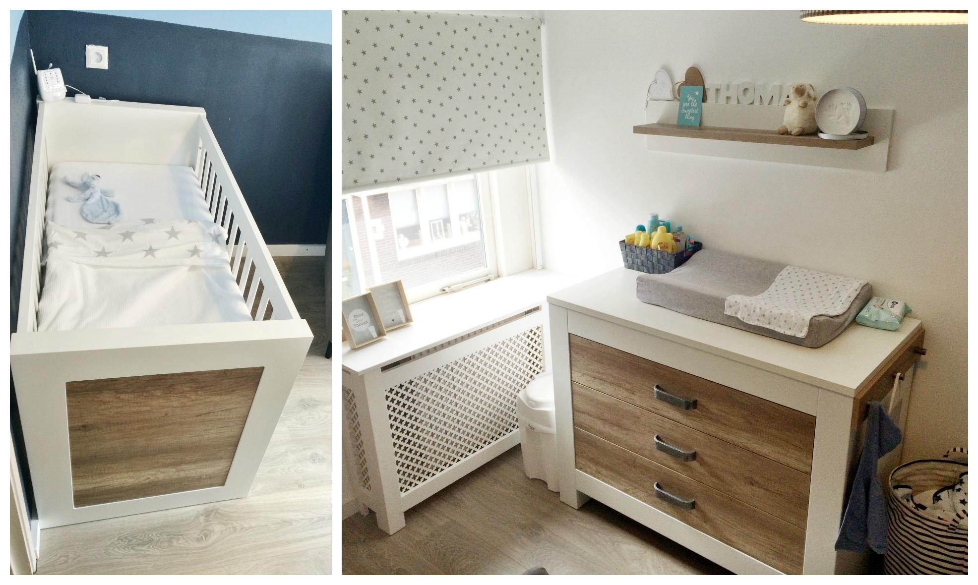 Rolgordijn Babykamer Inspiratie : De babykamer van thomas huisjeboompjebeestjekindje